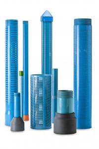 Tubi PVC per pozzi acqua, filtri in PVC e piezometrici in PVC